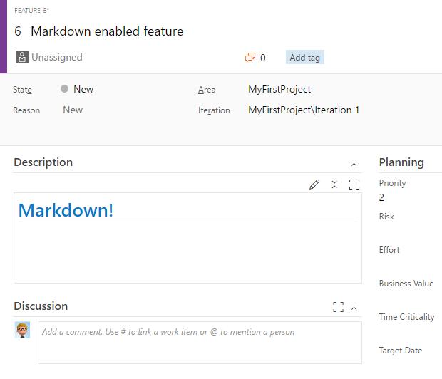 Use Markdown editor